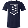 Brave Enough CrossFit - 200 - Shield - Bella + Canvas - Men's Triblend Short Sleeve Tee