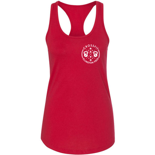 CrossFit Ellington Field - 100 - Pocket - Next Level - Women's Ideal Racerback Tank
