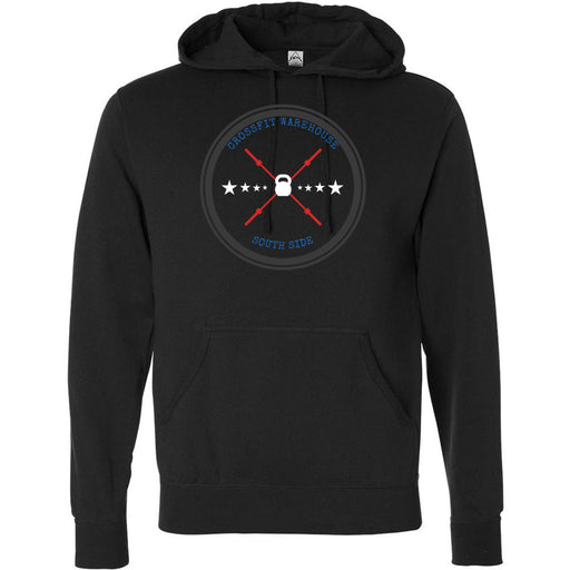 CrossFit Warehouse - 100 - Barbell - Independent - Hooded Pullover Sweatshirt