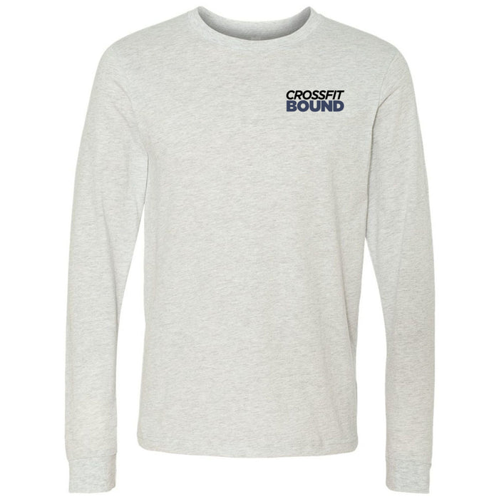 CrossFit Bound - 100 - Pocket - Bella + Canvas 3501 - Men's Long Sleeve Jersey Tee