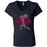 Grand Trunk CrossFit - 100 - Barbell - Bella + Canvas - Women's Short Sleeve Jersey V-Neck Tee