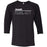 CrossFit Oahu - 202 - Pearl City Gray - Bella + Canvas - Men's Three-Quarter Sleeve Baseball T-Shirt