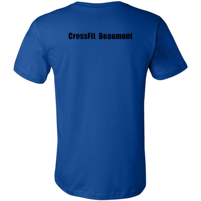 CrossFit Beaumont - 200 - CFB Circle - Bella + Canvas - Men's Short Sleeve Jersey Tee