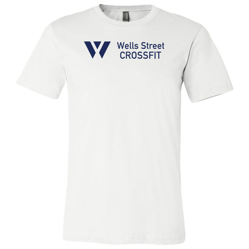 Wells Street CrossFit - 100 - Standard - Bella + Canvas - Men's Short Sleeve Jersey Tee