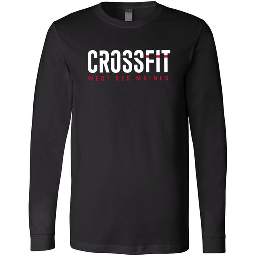 CrossFit West Des Moines - 100 - Standard - Bella + Canvas 3501 - Men's Long Sleeve Jersey Tee