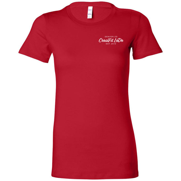 CrossFit Lodo - 100 - Pocket - Bella + Canvas - Women's The Favorite Tee