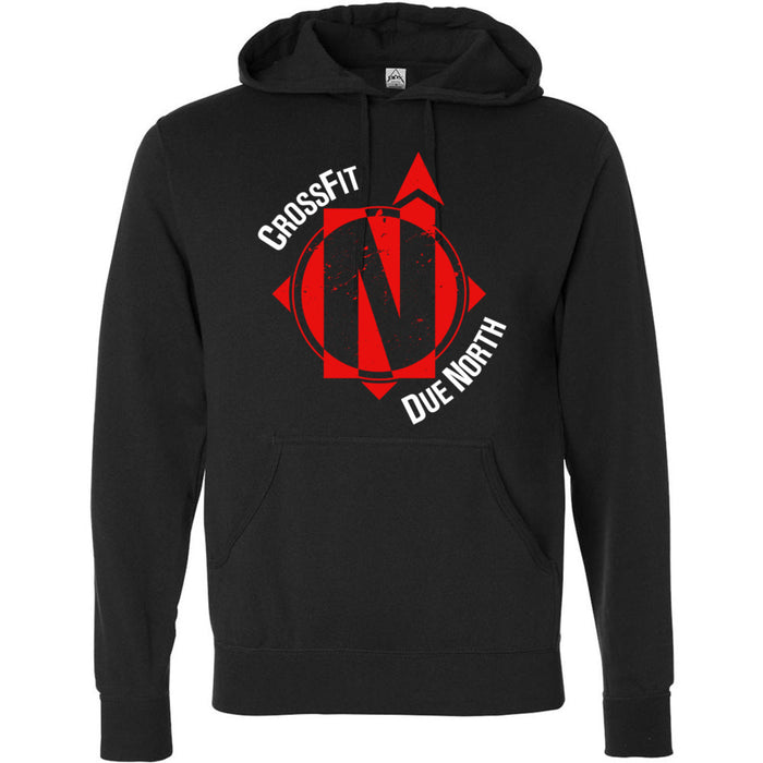 CrossFit Due North - 100 - Standard - Independent - Hooded Pullover Sweatshirt