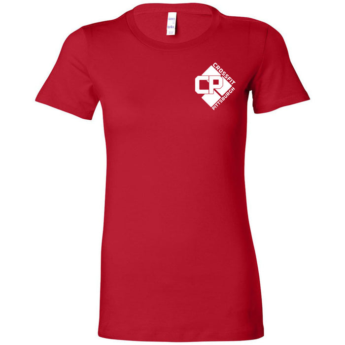 CrossFit Pittsburgh - 200 - RED - Bella + Canvas - Women's The Favorite Tee