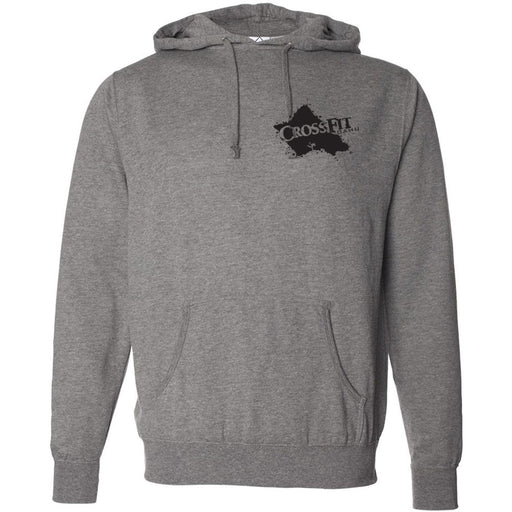 CrossFit Oahu - 201 - Shark Surfer - Independent - Hooded Pullover Sweatshirt