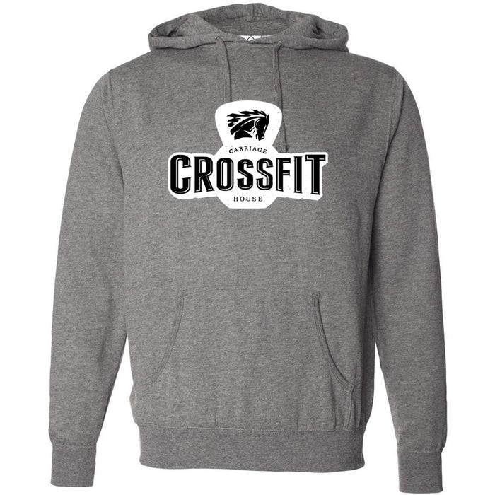 Carriage House CrossFit - 100 - Standard - Independent - Hooded Pullover Sweatshirt