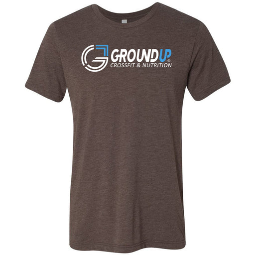 CrossFit Ground Up - 100 - Standard - Bella + Canvas - Men's Triblend Short Sleeve Tee