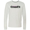 Ahwatukee CrossFit - 100 - Standard - Bella + Canvas 3501 - Long Sleeve Jersey Tee