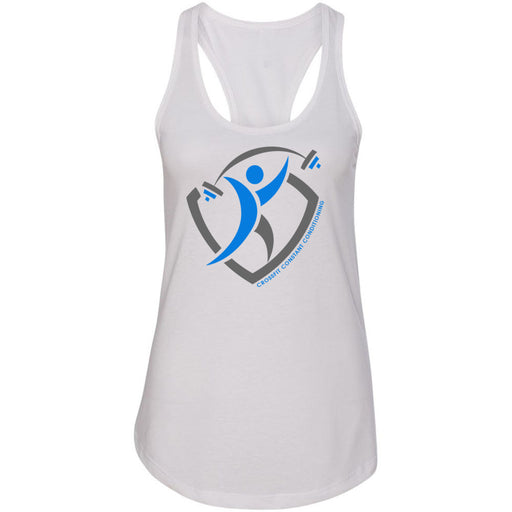 CrossFit Constant Conditioning - 100 - Design 1 - Next Level - Women's Ideal Racerback Tank