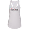 CrossFit Billings - 100 - Tag Line - Next Level - Women's Ideal Racerback Tank