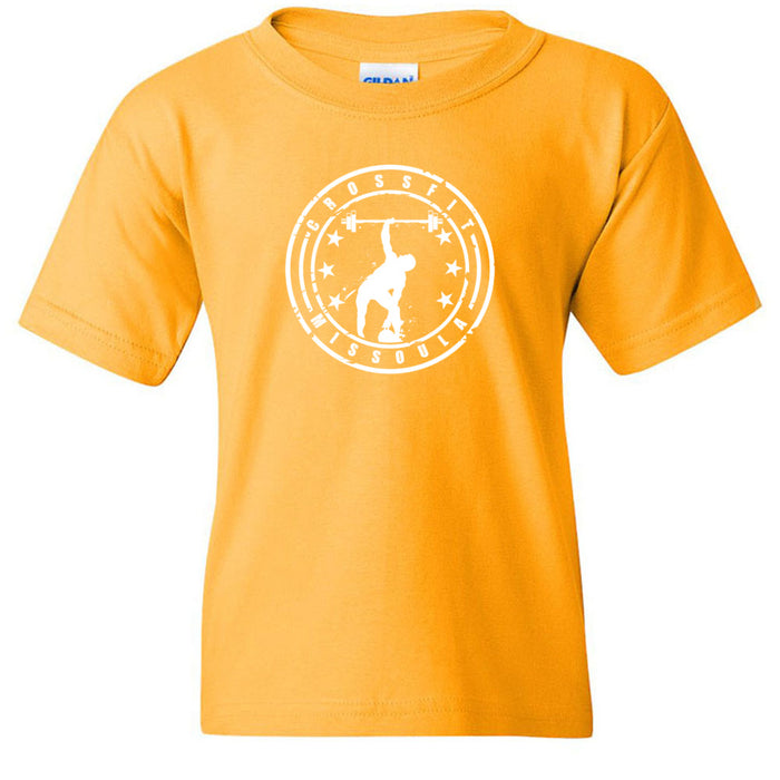 CrossFit Missoula - 200 - Standard - Gildan - Heavy Cotton Youth T-Shirt