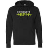 CrossFit BPM - 100 - White Volt - Independent - Hooded Pullover Sweatshirt