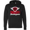 CrossFit Burlingame - 100 - Script - Independent - Hooded Pullover Sweatshirt