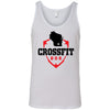CrossFit 608 - 100 - Standard - Bella + Canvas - Men's Jersey Tank