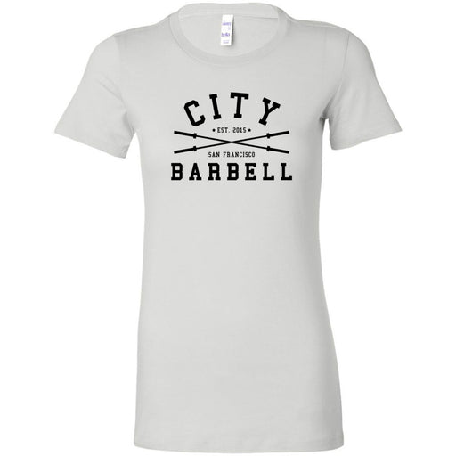The City CrossFit - 200 - Barbell - Bella + Canvas - Women's The Favorite Tee