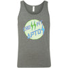 CrossFit Aptos - 100 - Circle Green - Bella + Canvas - Men's Jersey Tank