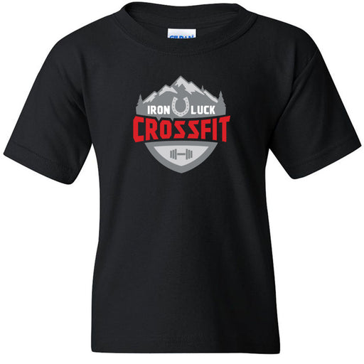 Iron Luck CrossFit - 100 - Standard - Gildan - Heavy Cotton Youth T-Shirt