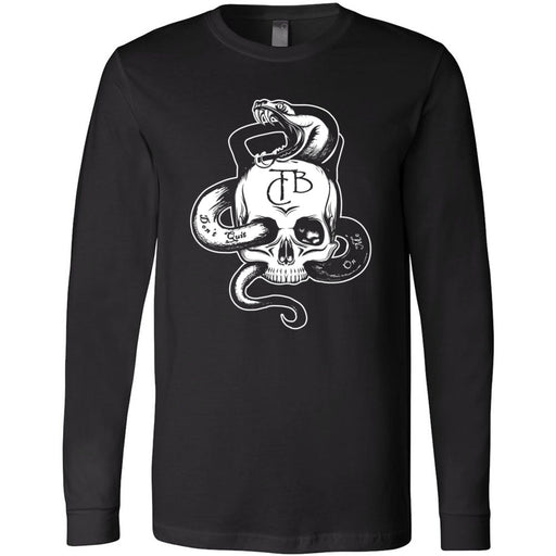 CrossFit TakeBack - 100 - Skull - Bella + Canvas 3501 - Men's Long Sleeve Jersey Tee