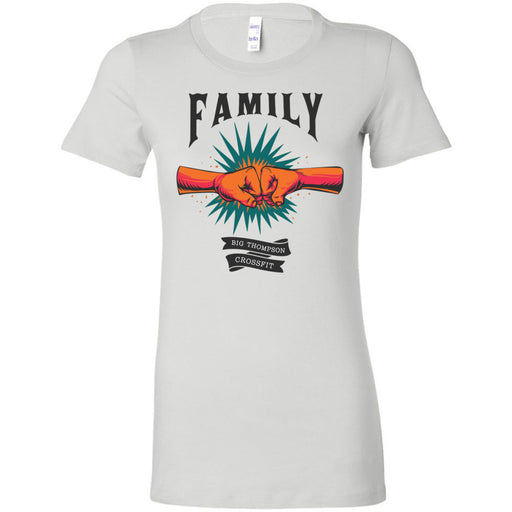 Big Thompson CrossFit - 100 - Family - Bella + Canvas - Women's The Favorite Tee