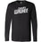 CrossFit Waukee - 100 - Angled - Bella + Canvas 3501 - Men's Long Sleeve Jersey Tee