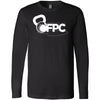 CrossFit Pell City - 100 - White - Bella + Canvas 3501 - Men's Long Sleeve Jersey Tee