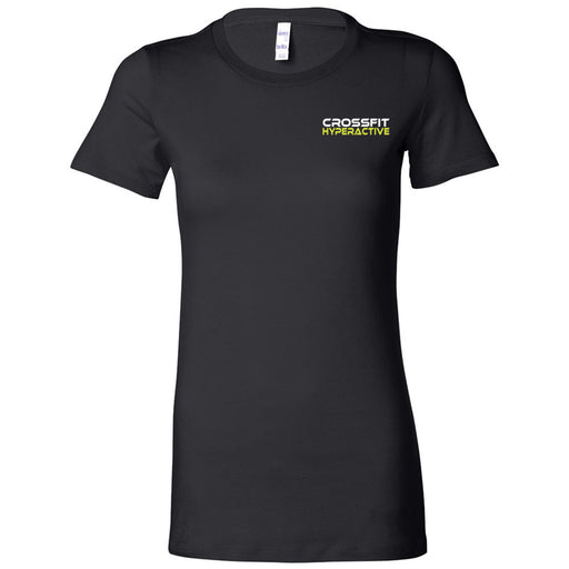 CrossFit Hyperactive - 100 - Pocket - Bella + Canvas - Women's The Favorite Tee