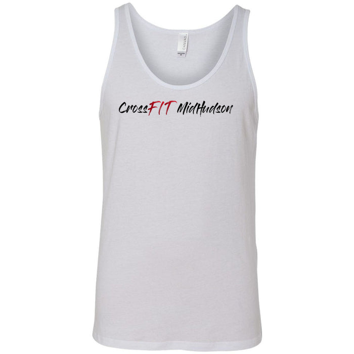 CrossFit Mid Hudson - Graffiti - Bella + Canvas - Men's Jersey Tank