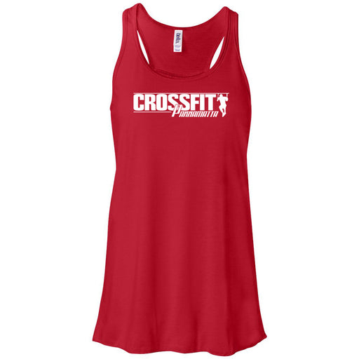 CrossFit Parramatta - 100 - One Color - Bella + Canvas - Women's Flowy Racerback Tank