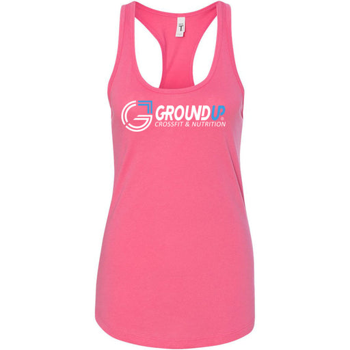 CrossFit Ground Up - 100 - Standard - Next Level - Women's Ideal Racerback Tank