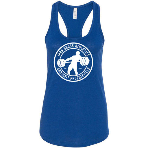 CrossFit Phoenixville - 100 - Standard - Next Level - Women's Ideal Racerback Tank