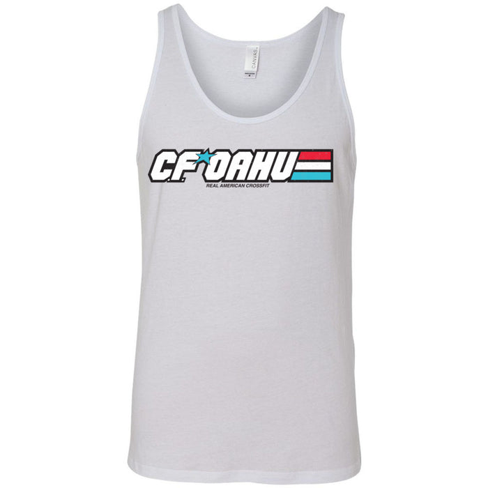 CrossFit Oahu - 100 - Joe - Bella + Canvas - Men's Jersey Tank