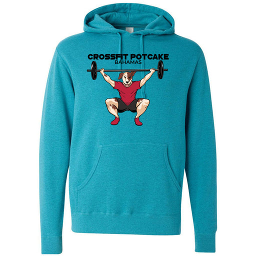 CrossFit Potcake - 100 - Bahamas - Independent - Hooded Pullover Sweatshirt