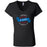 CrossFit NE Georgia - 100 - L1 - Bella + Canvas - Women's Short Sleeve Jersey V-Neck Tee