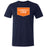 CrossFit Clemson - 100 - Orange & White - Bella + Canvas - Men's Triblend Short Sleeve Tee