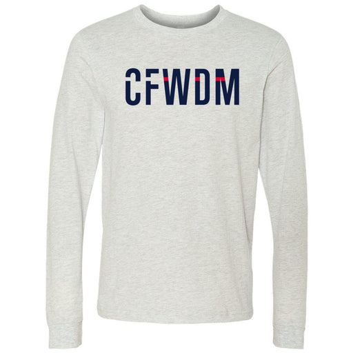 CrossFit West Des Moines - 202 - CFWDM - Bella + Canvas 3501 - Men's Long Sleeve Jersey Tee