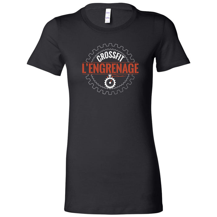 CrossFit L'Engrenage - 100 - Orange - Bella + Canvas - Women's The Favorite Tee