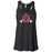Red Dog CrossFit - 100 - Standard - Bella + Canvas - Women's Flowy Racerback Tank
