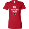 Clermont CrossFit - 200 - Fit Made Me Do It - Bella + Canvas - Women's The Favorite Tee