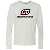 CrossFit Decatur - 100 - Standard - Bella + Canvas 3501 - Men's Long Sleeve Jersey Tee