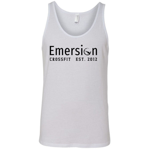 Emersion CrossFit - 100 - Black - Bella + Canvas - Men's Jersey Tank