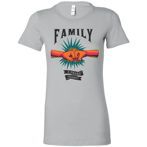 3 Peaks CrossFit - 100 - Family - Bella + Canvas - Women's The Favorite Tee