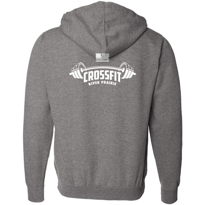 CrossFit River Prairie - 201 - Center - Independent - Hooded Pullover Sweatshirt