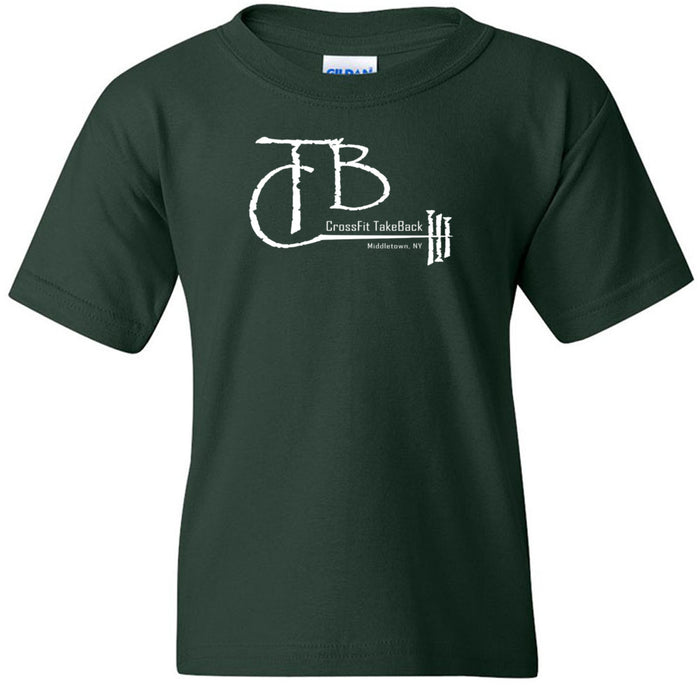 CrossFit TakeBack - 100 - Barbell - Gildan - Heavy Cotton Youth T-Shirt