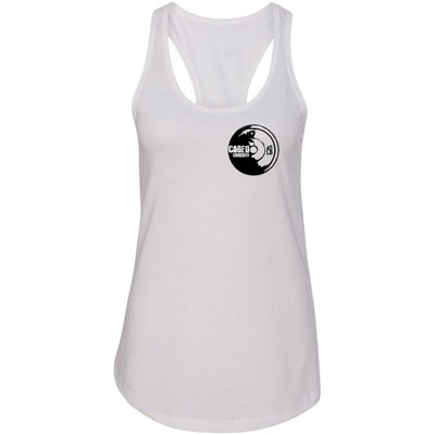 Caged CrossFit - Plate - Next Level - Women's Ideal Racerback Tank