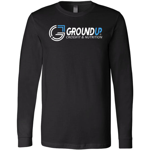 CrossFit Ground Up - 100 - Standard - Bella + Canvas 3501 - Men's Long Sleeve Jersey Tee