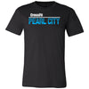CrossFit Oahu - 200 - Pearl City Blue - Bella + Canvas - Men's Short Sleeve Jersey Tee